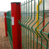 PVC Coated Welded Wire Mesh Fence 또는 Bending Fence