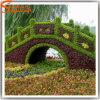 Aangepast het Modelleren Kunstmatig Vals Topiary Gras voor Ambachten