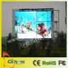 Signe fixé au mur extérieur polychrome d'écran de P10 DEL