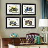2015 nuovo Fasion Modern Promotional Picture Art Wall Paintings con Frame Frame Photo, Frame Picture Motorcycle Picture per Home Decoration Hotel/Home/Office/Cof