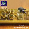 76 de nieuwe Gift van het Theekopje van het Glas van de Stijl met Infuser L4-D600