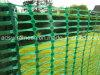 Cerco plástico verde da barreira do engranzamento
