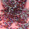 공장 가격 편평한 뒤 비 최신 고침 모조 다이아몬드 혼합 색깔은 예술 DIY를 위한 수정같은 Strass 구슬을 네일링한다