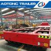 80-100 les tonnes 2 raye la remorque lourde de Lowbed de 4 essieux semi