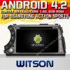 Witson Android 4.2 Car DVD pour Ssangyong Actyon Sports avec A9 l'Internet DVR Support du WiFi 3G de ROM du jeu de puces 1080P 8g