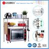 Регулируемый стальной миниый шкаф полки провода кухни для еды
