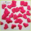 Confetti do casamento da tela da cor-de-rosa quente