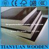 3/4 '' película concreta del encofrado hizo frente a la madera contrachapada/a Sr. negro Glue de la madera contrachapada del edificio