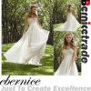 Robe de mariage Chiffon de plage d'empire de White/Ivory