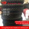 Hete Grootte 300-18 van de Band van de Motorfiets van het Merk van de Fabriek Shandong van de Verkoop In het groot Hoogste/Zonder binnenband van de Band van de Band van de Motorfiets