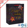 Birthday feliz Promotional Gift Bags com Hot Stamping
