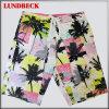 Shorts da praia dos homens com estilo da flor