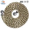 El 5/16  atar colorido de cadena y azotar el encadenamiento con el anillo en D
