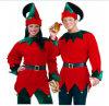 サンタクロースの服かスーツまたはChristamsの衣裳または祝祭の衣裳またはデザインの凝った服1100010
