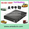 4/8 de sistema móvel da câmera da canaleta HD 1080P 3G/4G DVR para todos os tipos dos veículos