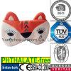 Masque d'oeil tricoté par animal de la chaleur de micro-onde de jouet de Fox