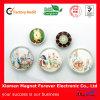 3D Cheap Custom Crystal Glass Fridge Magnet