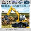 2017 excavadores calientes de la rueda de la venta con el gancho agarrador de la madera