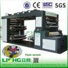 Tipo impresora del apilado del color de Lishg 4 de Flexo del papel