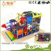 A esponja interna macia de escalada do PVC do campo de jogos da canaleta dos jogos caçoa a fibra de vidro engraçada dos brinquedos
