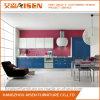 Gabinete de cozinha brilhante da laca da cor para Ámérica do Sul