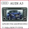 GPS van de auto het Systeem van de Navigatie voor Audi A3