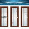 Portello di alluminio classico/dell'alluminio della stanza da bagno/stoffa per tendine con il disegno differente