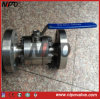 API6d 3 PCS Forged Steel Floating Ball Valve