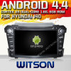 Witson Android 4.4 Car DVD para Hyundai I40 2011-2013 com A9 o Internet DVR Support da ROM WiFi 3G do chipset 1080P 8g