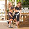 Pantalon courant de guêtres de forme physique de séance d'entraînement de yoga des collants des femmes