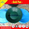 Oro de la alta calidad que lava la cacerola plástica del oro con los rápidos profundos