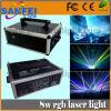 лазер диско одушевленност цвета 5-8000MW RGB Multi