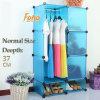 Armazenamento azul Cbinet do plástico DIY com muitas cores disponíveis (FH-AL0523-3)