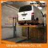 CE/ISO 9001 certificó el coche de poste dos que apilaba la elevación
