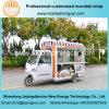 Camion électrique d'aliments de préparation rapide de tricycle de bonne qualité avec toutes sortes de matériel de restauration