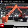 Floating Pontoon Jyae-71를 가진 늪 Excavator