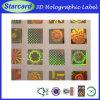 2014년 승진 Custom Adhesive 3D Holographic Label