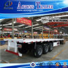 Tri Axles Platform 40ft Container Flatbed Semi Trailers for Sale