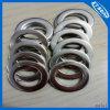 Плоская алюминиевая шайба/медная прокладка между фланцами запечатывания металла/набивки металла плоские
