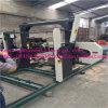 Máquina elétrica da serra de fita horizontal de madeira portátil para o processamento de registros
