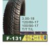Motorrad-Gummireifen/Reifen 3.00-18 120/80-17 100/90-17