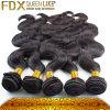 Het onverwerkte Maagdelijke Weefsel van het Haar/van het Haar van de Golf Hair/Wholesale van het Lichaam (fdxi-Pb-001)