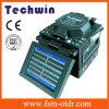 ファイバー接続機械ファイバーの融合のスプライサの光ファイバスプライサTechwin Tcw-605c
