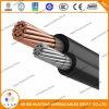 UL 4703 4개의 코어 Aluminumfiber 광 케이블 태양 PV 케이블 PV1-F