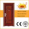 Usado Puerta de hierro forjado India Exterior Puerta del metal precios (SC-S038)