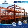 Almacén grande de la estructura de acero de la luz roja para el emplazamiento de la obra