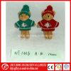 Jouet chaud de Keychain d'ours de nounours de Noël de vente