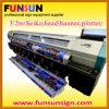 フェートン型オープンカー3.2m Wide Format Solvent Inkjet Machine (8seikoヘッド、最高速度、最もよい品質)