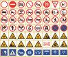 Señal de tráfico reflexiva de la construcción temporal de la tarjeta del símbolo de la seguridad en carretera (C3500-TS)