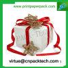 Boîte-cadeau fabriquée à la main blanche de papier d'Étoile-Bande de qualité